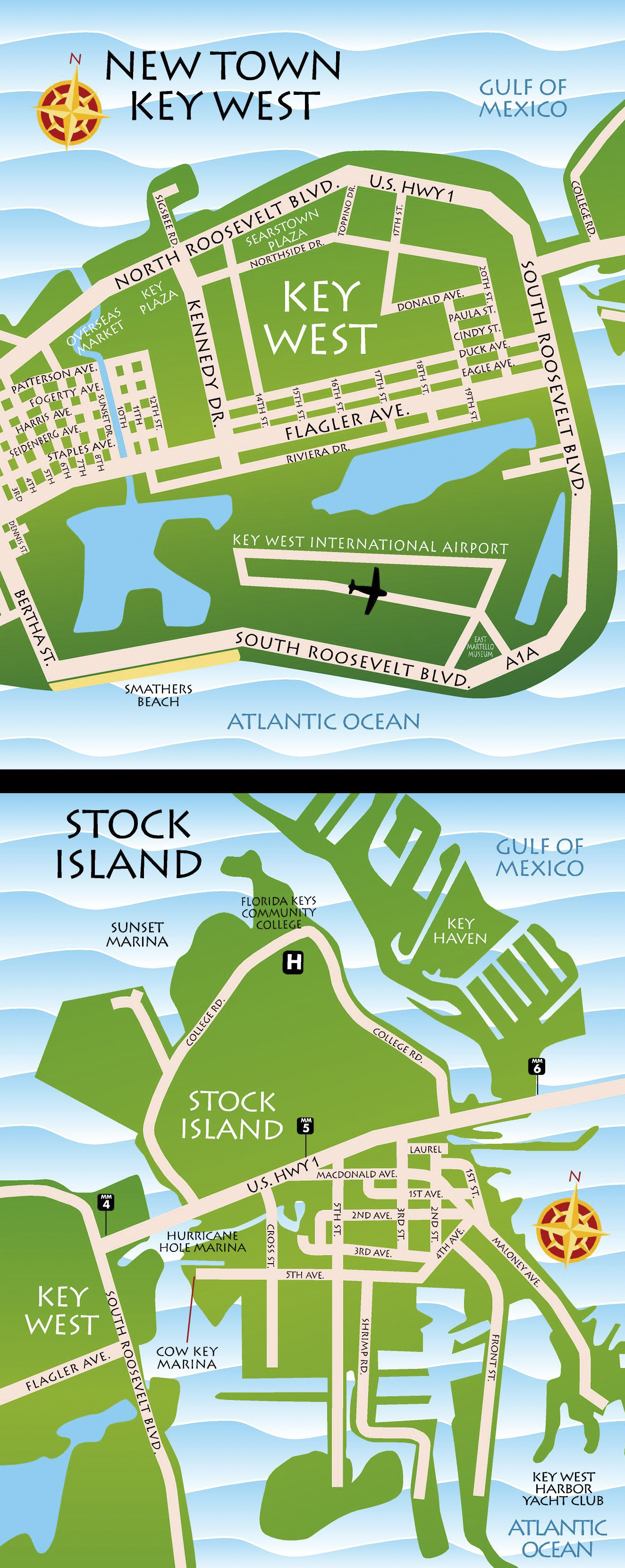 Maps key west florida keys best key west restaurant for Cuisine west island