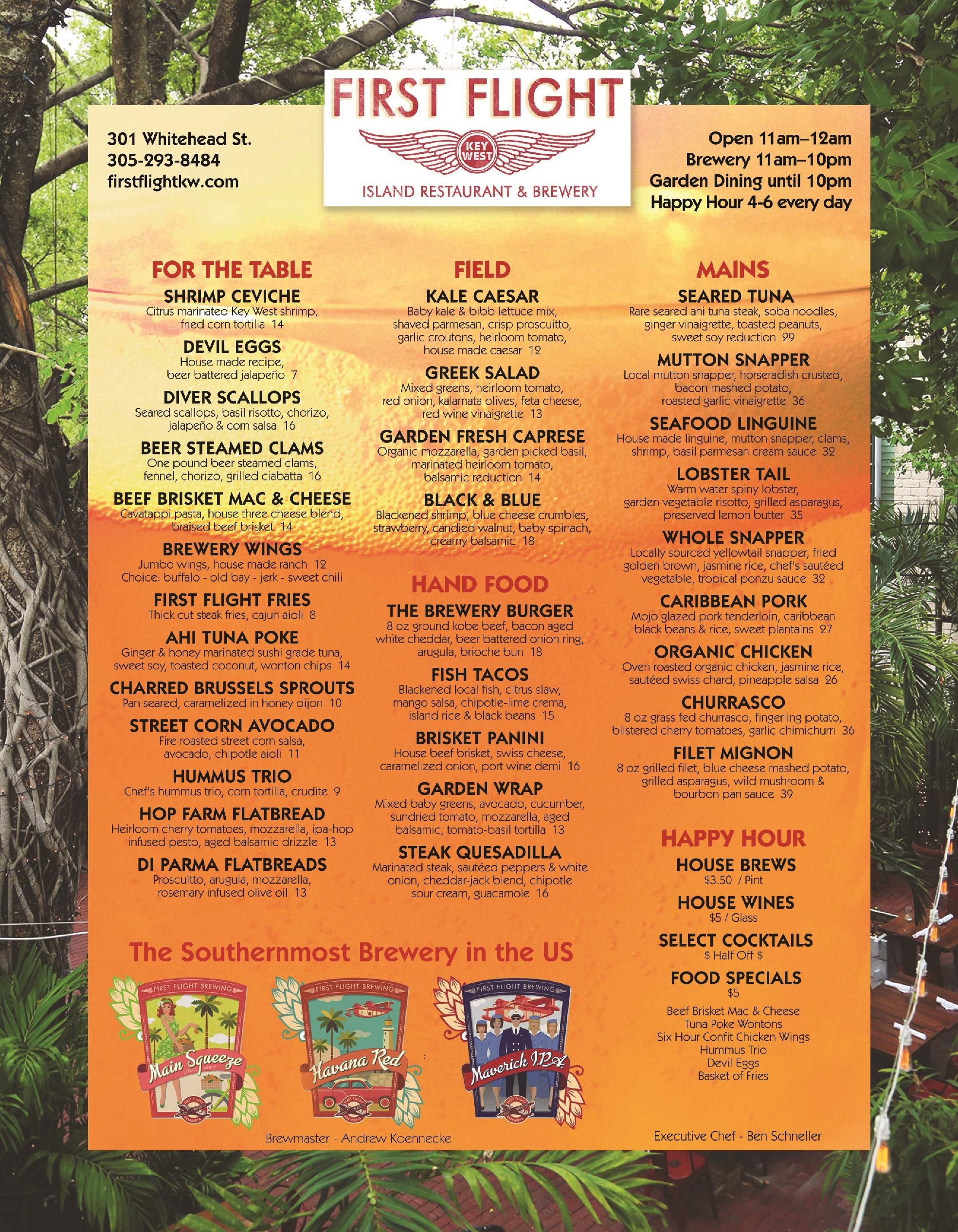 First Flight Island Restaurant & Brewery, Key West - Best ...